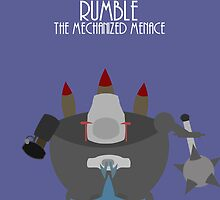League of legends - Rumble the mechanized menace by Nundei