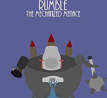 League of legends - Rumble the mechanized menace by Nundei