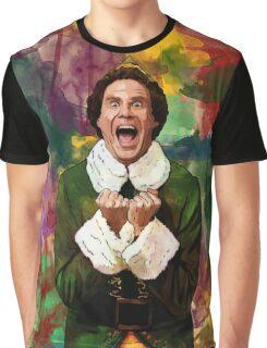 Elf - SANTA'S COMING! Graphic T-Shirt