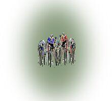 Tour de France by Grobie