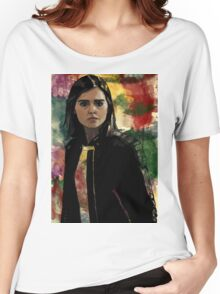 Clara Oswald The Impossible Girl Women's Relaxed Fit T-Shirt