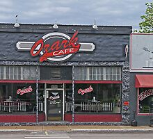 Ozark Cafe, Jasper, Arkansas, USA by Margaret  Hyde