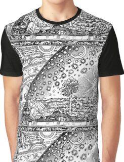 Flammarion - Psychedelic renaissance woodcut Graphic T-Shirt