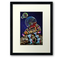 Cereal Robot Framed Print