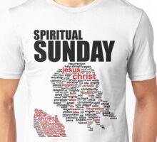 #1 Spiritual Sunday w/black trim Unisex T-Shirt