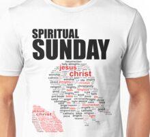 #2 Spiritual Sunday w/white trim Unisex T-Shirt