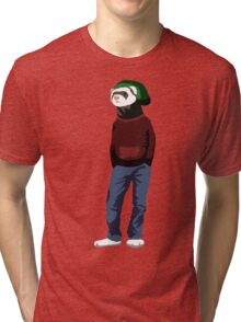 Street ferret Tri-blend T-Shirt