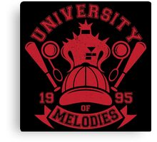 University of Melodies Canvas Print