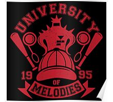 University of Melodies Poster