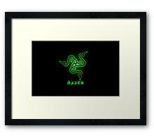 Razer Framed Print