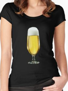 a beer Women's Fitted Scoop T-Shirt