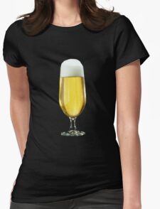 a beer Womens Fitted T-Shirt