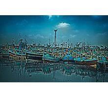 Mystical Harbor Photographic Print