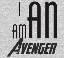 I am an avenger by poetickale