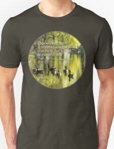 Isaiah 26 3 Thou Wilt Keep Him In Perfect Peace Unisex T-Shirt