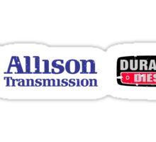 Allison Duramax vintage look Sticker