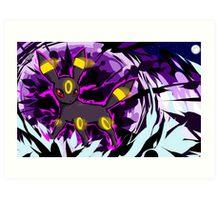 Umbreon | Dark Pulse Art Print