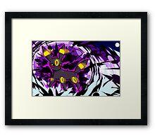 Umbreon   Dark Pulse Framed Print
