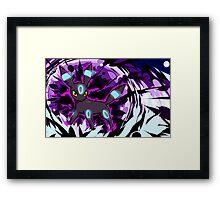 Shiny Umbreon   Dark Pulse Framed Print