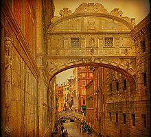 Venice... Bridge of Sighs. by egold
