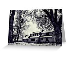 Haunted Casa Greeting Card
