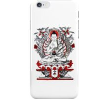 Buddha Meditating in a Lotus Flower iPhone Case/Skin