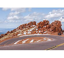 Pikes Peak Photographic Print