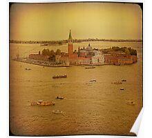 Venice... San Giorgio Maggiore. Poster