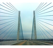 Indian River Bridge Coin Beach Photographic Print