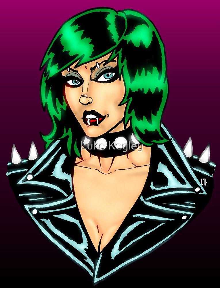 Punk Rock Chick by MetalheadMerch