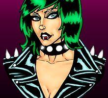 Punk Rock Chick by Luke Kegley