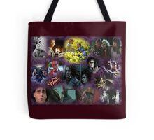 Tim Burton Collage Tote Bag