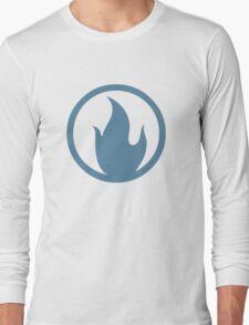 TF2 Pyro Shirt Team Spirit Blue Long Sleeve T-Shirt