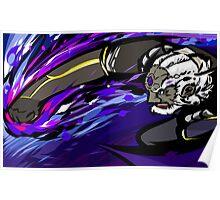 Black Palette Ganondorf   Warlock Punch Poster