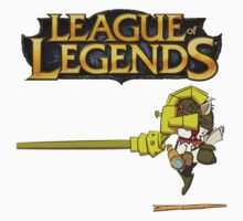 League of legends - Teemo vs Blitz by 8BitWorks