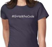 Girls Who Code Womens Fitted T-Shirt
