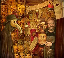 Venice... The Mask Maker by egold