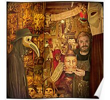 Venice... The Mask Maker Poster