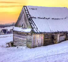 Winter Chalet by PatiDesigns
