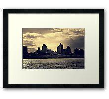 East River - Dumbo, Brooklyn Framed Print