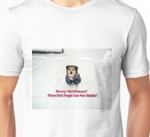 """Andy Says """"Please Don't Forget Your Pets Outside"""" Unisex T-Shirt"""