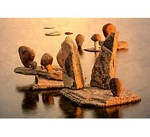 Stone sculpture-7 Photographic Print