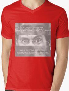 Raggedy Man...Goodnight  Mens V-Neck T-Shirt