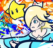 Rosalina and Luma | Luma Shot by ishmam