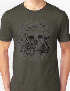 Skull Bio Wave Unisex T-Shirt
