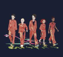 #4 misfits Kids Tee