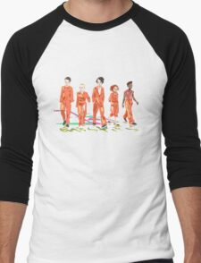 #4 misfits Men's Baseball ¾ T-Shirt