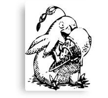 Ni No Kuni: Penguin Familiar Canvas Print