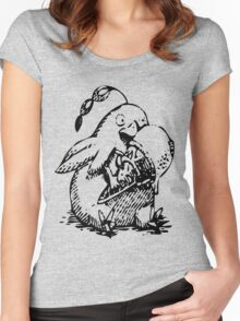 Ni No Kuni: Penguin Familiar Women's Fitted Scoop T-Shirt