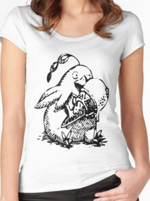 Ni No Kuni: Penguin Familiar Women's Fitted Scoop T-Shirt